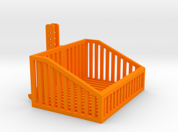 1:32 Frontbox mit Gitter in Orange Strong & Flexible Polished