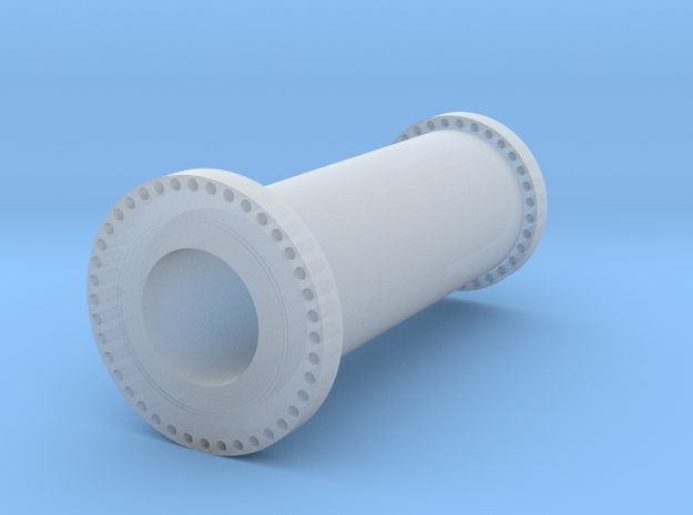 """Project Babylon"" Supergun barrel segment in Smooth Fine Detail Plastic: 1:72"