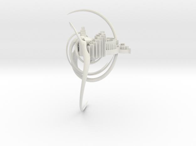 Nesting Spiral in White Strong & Flexible