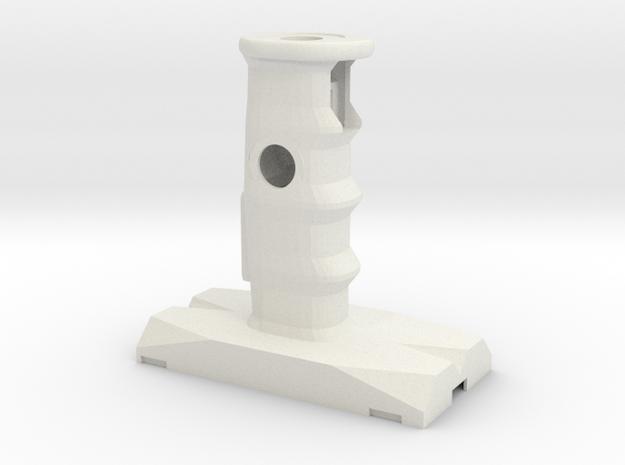 Swedish Vaper -Thor- Hilt Grip 2 in White Natural Versatile Plastic