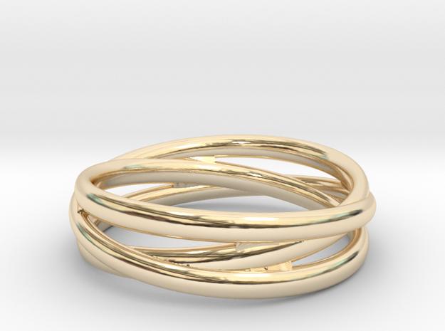 Triple alliance ring