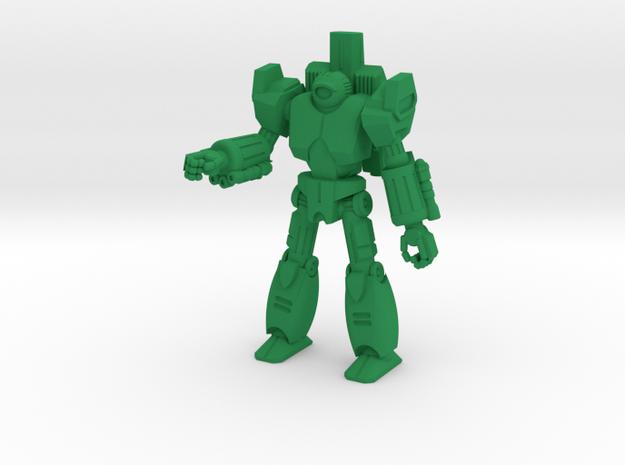 Indrus Type Combat Walker - 6mm in Green Processed Versatile Plastic