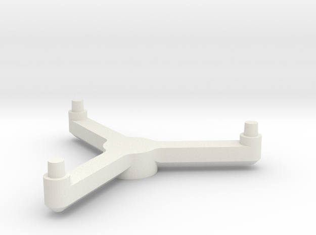 3125 Scale Tholian PC Pinwheel Stand Topper SRZ in White Strong & Flexible
