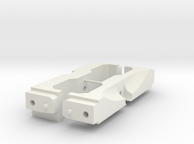 1/10 Scale Jeep mounts for SCX10 (front and rear)