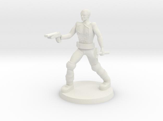 Deathboy Raider  in White Natural Versatile Plastic