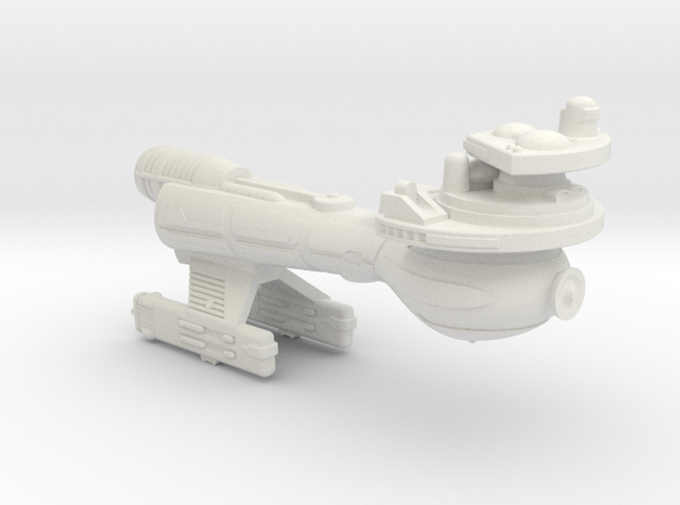 3788 Scale Klingon B10K Boom WEM in White Natural Versatile Plastic