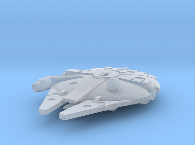 1:2700 Millenium Falcon, gear down in Frosted Extreme Detail