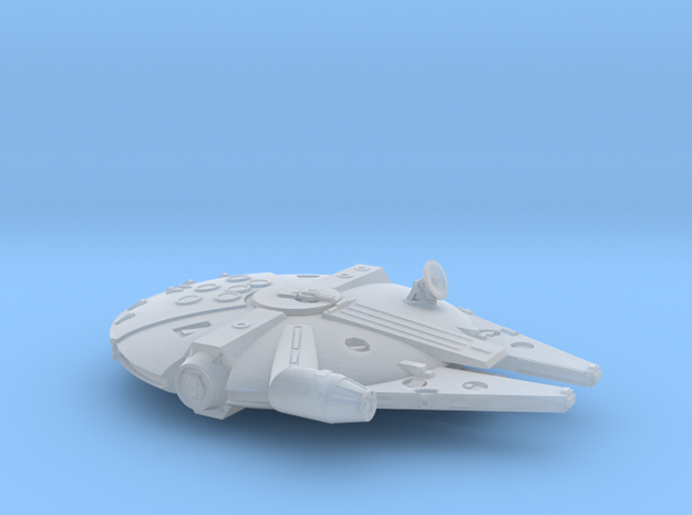 1:1200 Millenium Falcon, gear up in Frosted Extreme Detail