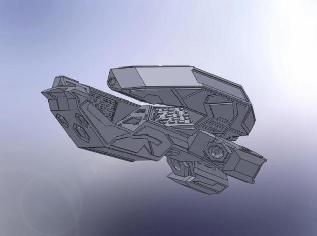 Tri Claw Heavy Cruiser 3d printed Description