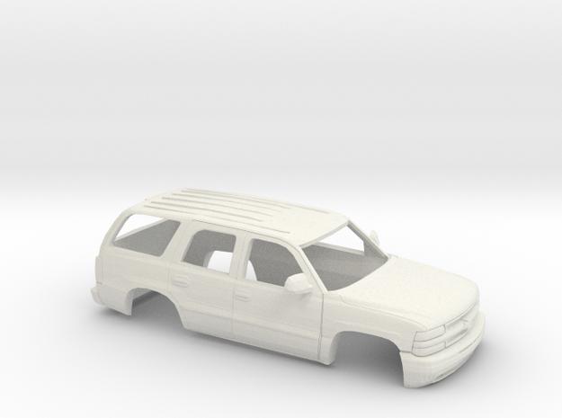 1/35 2000 Chevrolet Tahoe Shell in White Natural Versatile Plastic