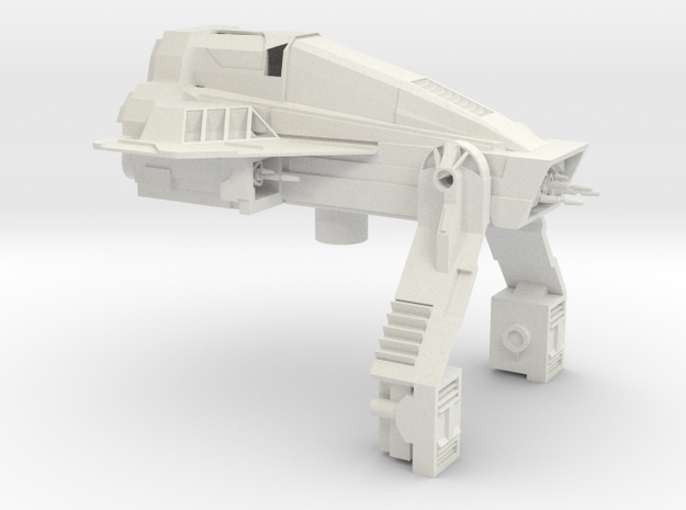 Defender-class Rig in White Natural Versatile Plastic