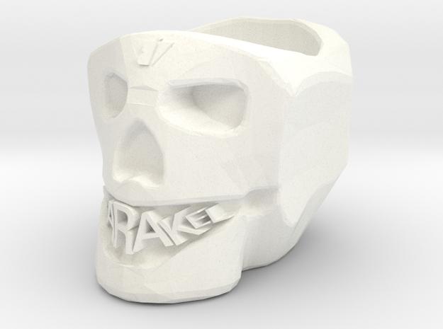 3d in White Processed Versatile Plastic