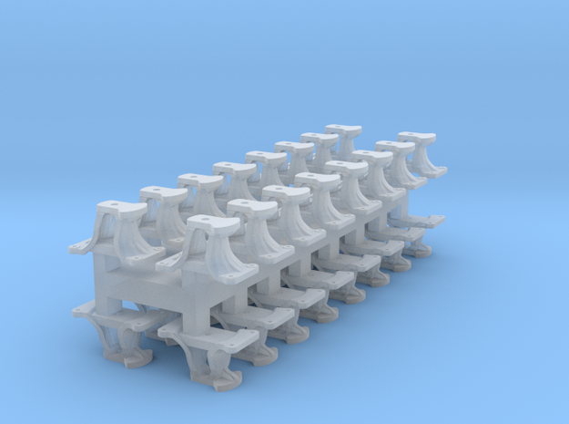 8 X Short CPR Switchstand in Smoothest Fine Detail Plastic