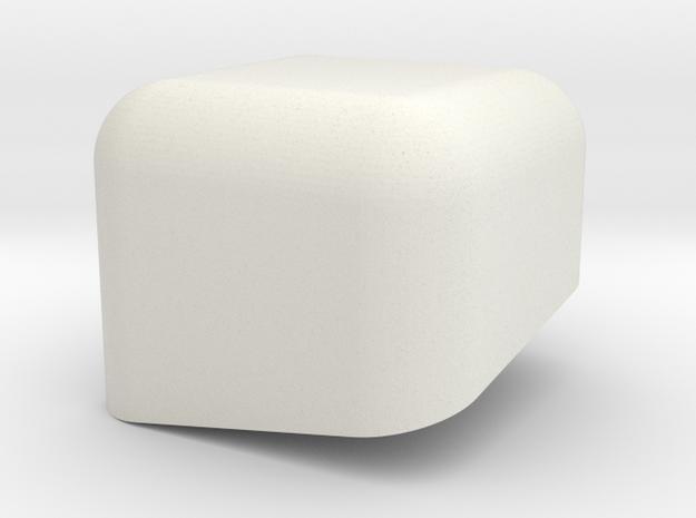 Swedish Vaper 18650x4 Battery Holder TOP in White Natural Versatile Plastic