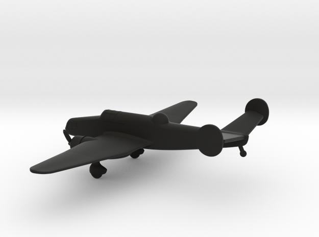 Letov S-50 in Black Natural Versatile Plastic: 1:200