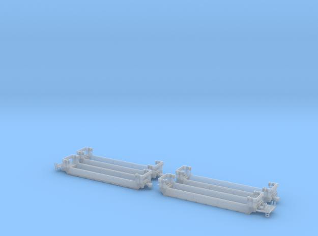 Twin Stack Container cars Z scale