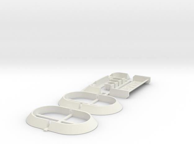 Spoiler & arches kit (universal wide body conversi
