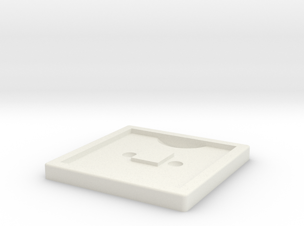 AT-ST Webbing Square 1 in White Strong & Flexible