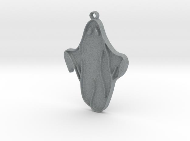 Ghost Pendant in Polished Metallic Plastic