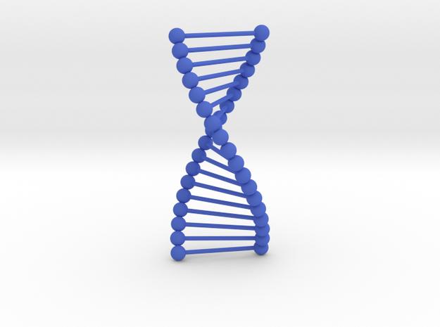 DNA in Blue Processed Versatile Plastic