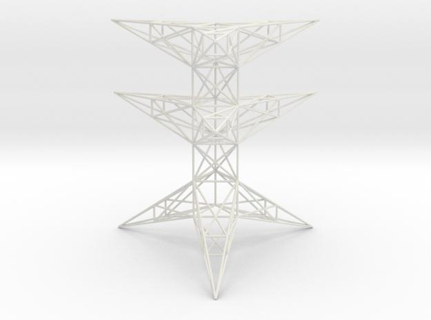 Pylon Accessories Stand Tower 2 in White Natural Versatile Plastic