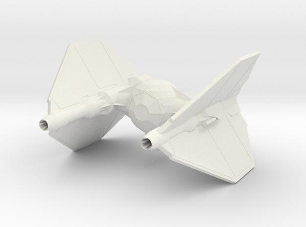 Tie Invader  in White Natural Versatile Plastic