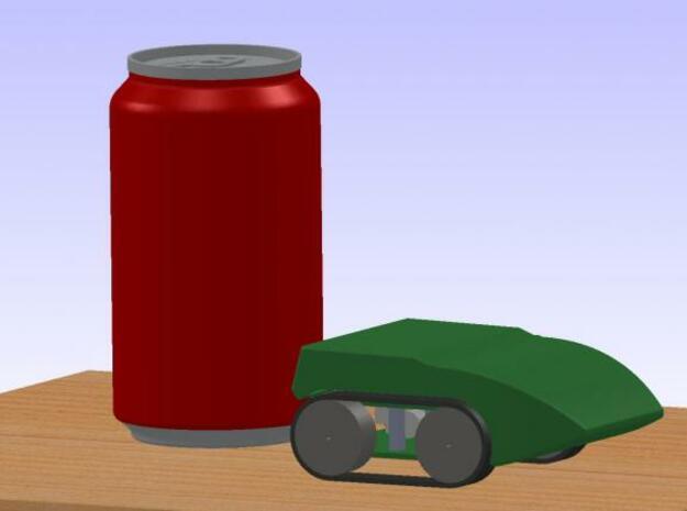 Robot Body 3d printed Description