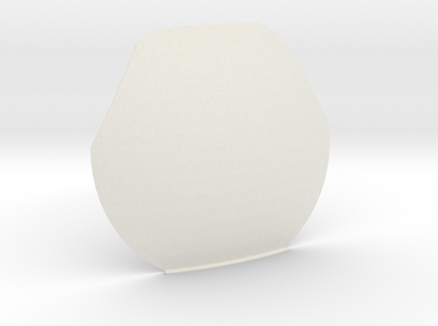 12th scale dome-C-1 in White Natural Versatile Plastic