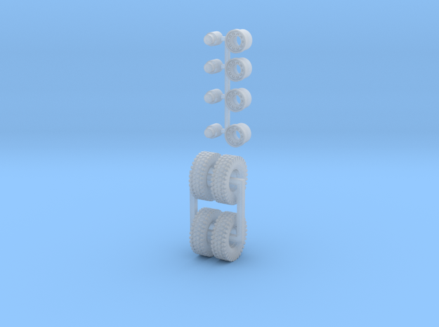 Reifen ähnlich XZL 11R20 4 Stück Einzelbereifung in Smooth Fine Detail Plastic