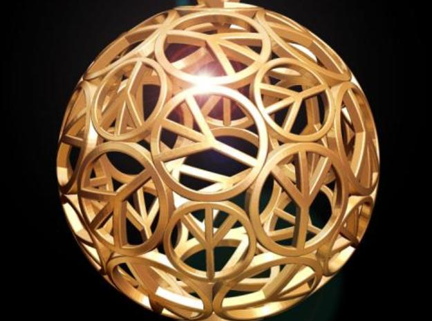 Peace Ball 3d printed Fig. D
