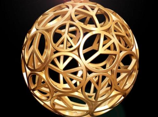 Peace Ball 3d printed Fig. K