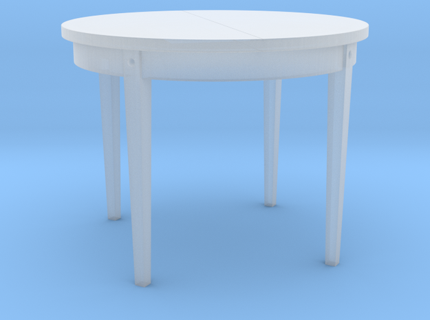H0 Dinner Table - 1:87 in Smooth Fine Detail Plastic