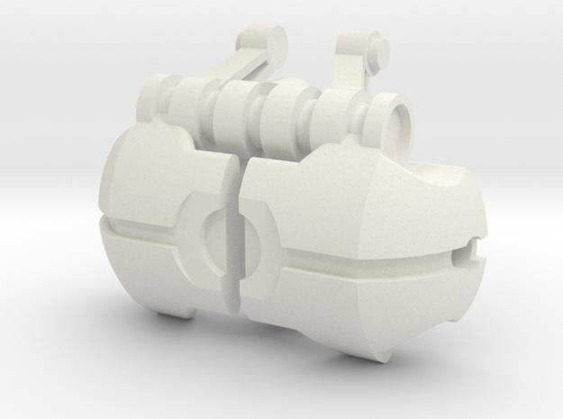 Voluki Armor 2 in White Natural Versatile Plastic