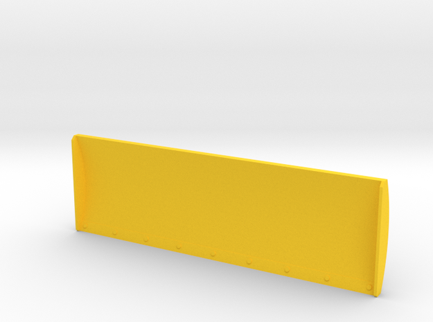 1:32 - 5m Schiebeschild K-700A in Yellow Strong & Flexible Polished