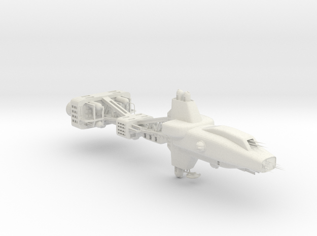 Earth Alliance - Hyperion Destroyer (w/o base) in White Strong & Flexible