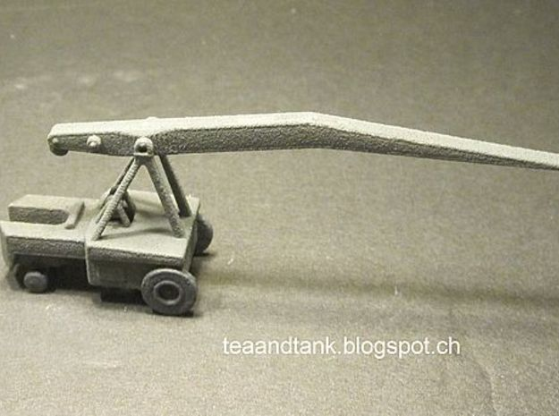 1/144 Miag K5000 crane for Wunderwaffen in White Natural Versatile Plastic
