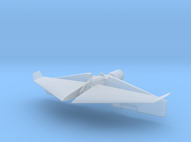 Banshee-class Fighter  in Smooth Fine Detail Plastic