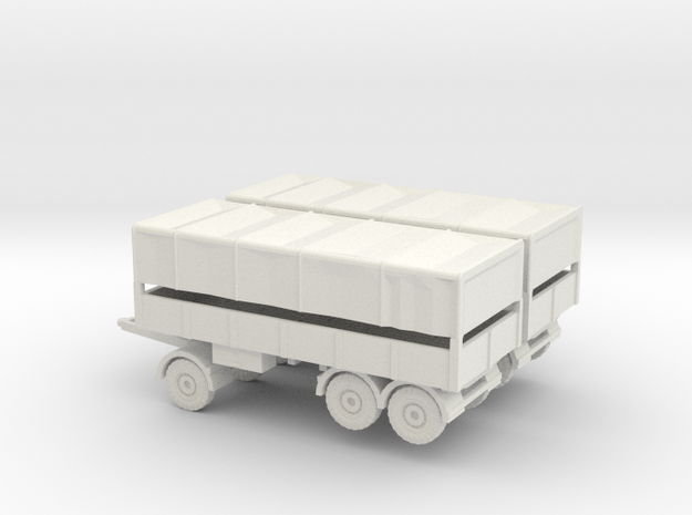 1/144 set of two German 7 ton trailers