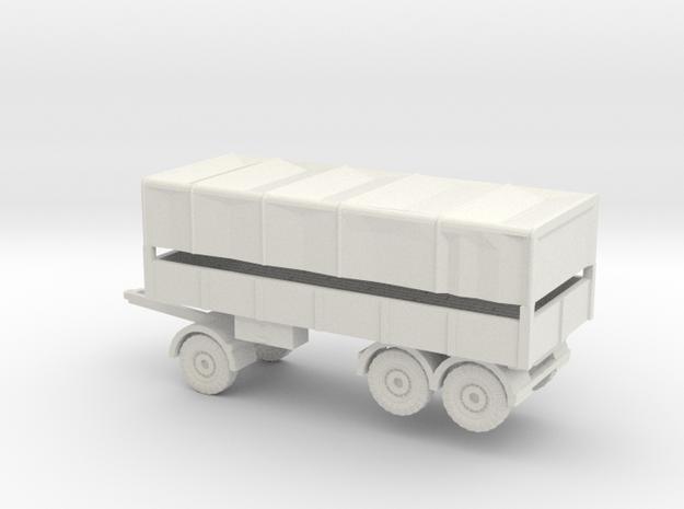 1/144 7 ton 3 axis trailer (German Wehrmacht)
