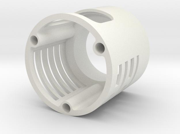 Graflex blade holder extension in White Strong & Flexible