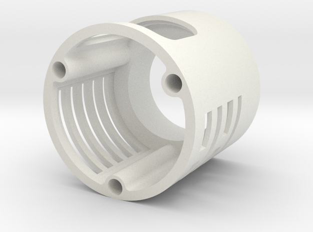 Graflex blade holder extension in White Natural Versatile Plastic