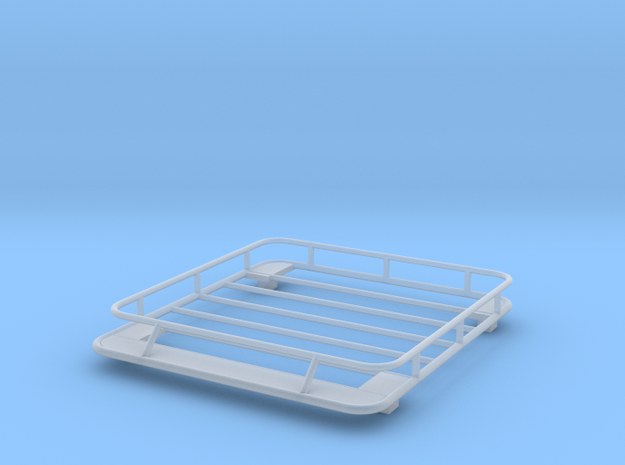 1/24 1/25 small roof rack in Smooth Fine Detail Plastic