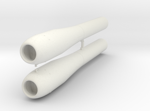 Argus As-014 Pulsejet (Two-pack) in White Natural Versatile Plastic: 1:48 - O
