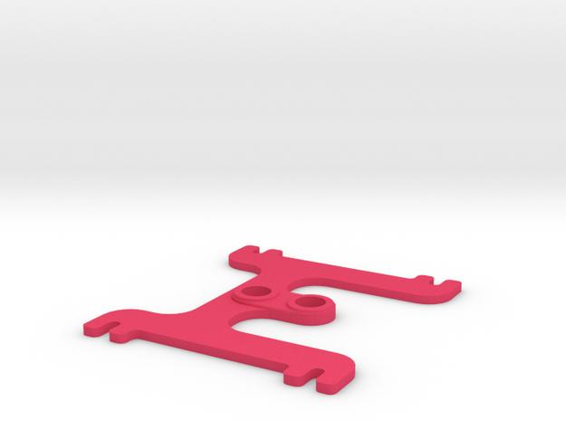 H BAT 1.5 in Pink Processed Versatile Plastic