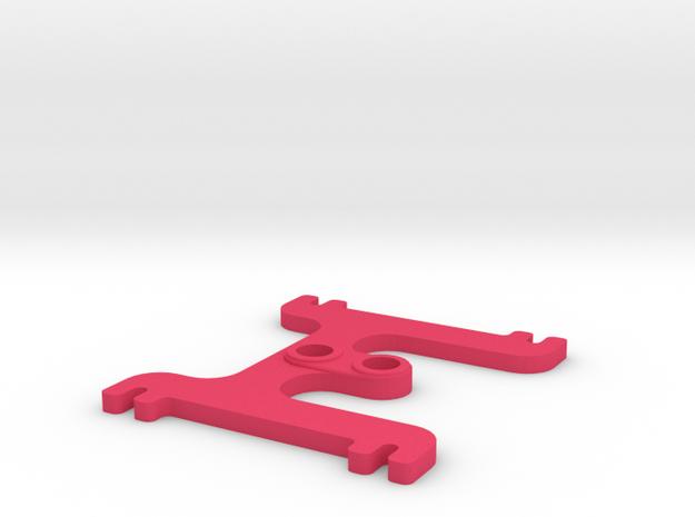 H BAT 2.5 in Pink Processed Versatile Plastic