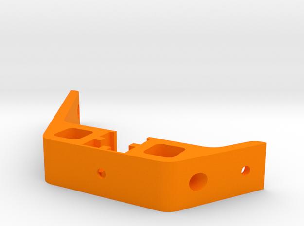 Kossel XL Deckel vorne - Verstrebung - Ndo Design in Orange Processed Versatile Plastic