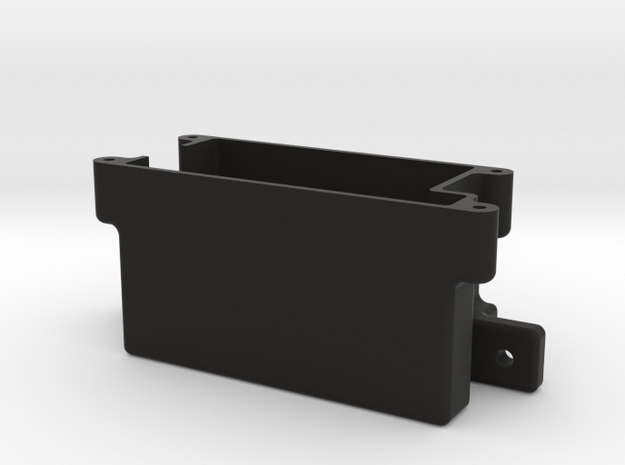 Xray Nt1 Receiverbox w/antenna holder in Black Strong & Flexible