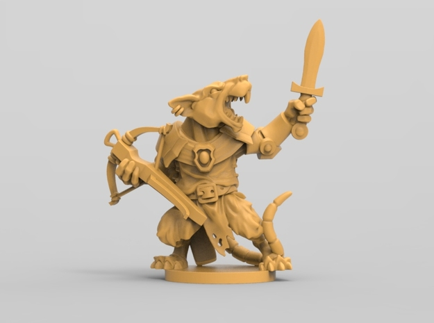 Elite Rat 2 - Mice and mystics in White Natural Versatile Plastic