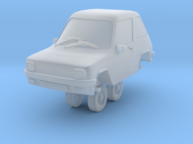 1/87 Scale Enfield 8000 in Frosted Ultra Detail