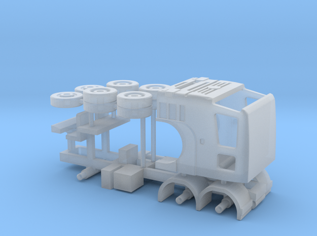 N Gauge Axor C 6x4 Lorry Kit in Smooth Fine Detail Plastic
